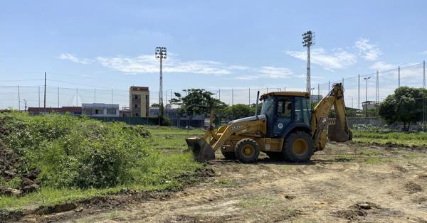 Comienzan las obras en el Estadio Yeyo Úraga (Ecuador)