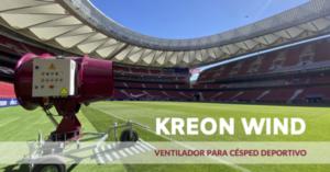 KREON Turf Solutions presenta el ventilador para césped más moderno del mercado